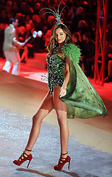 Miranda Kerr at the 2012 Victoria's Secret Fashion Show.