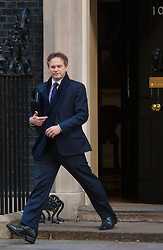 London, March 3rd 2015. Members of the cabinet arrive at 10 Downing Street for their weekly meeting. PICTURED: Tory Party Chairman Grant Shapps