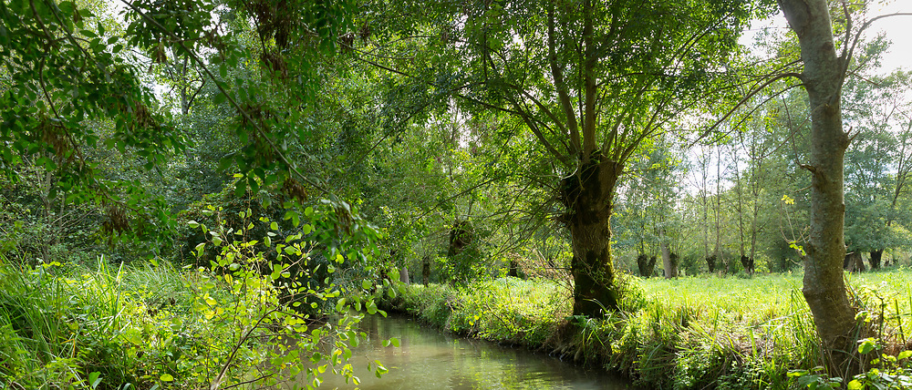 The Marais Poitrevin canal and marshland region a Grand Site de France