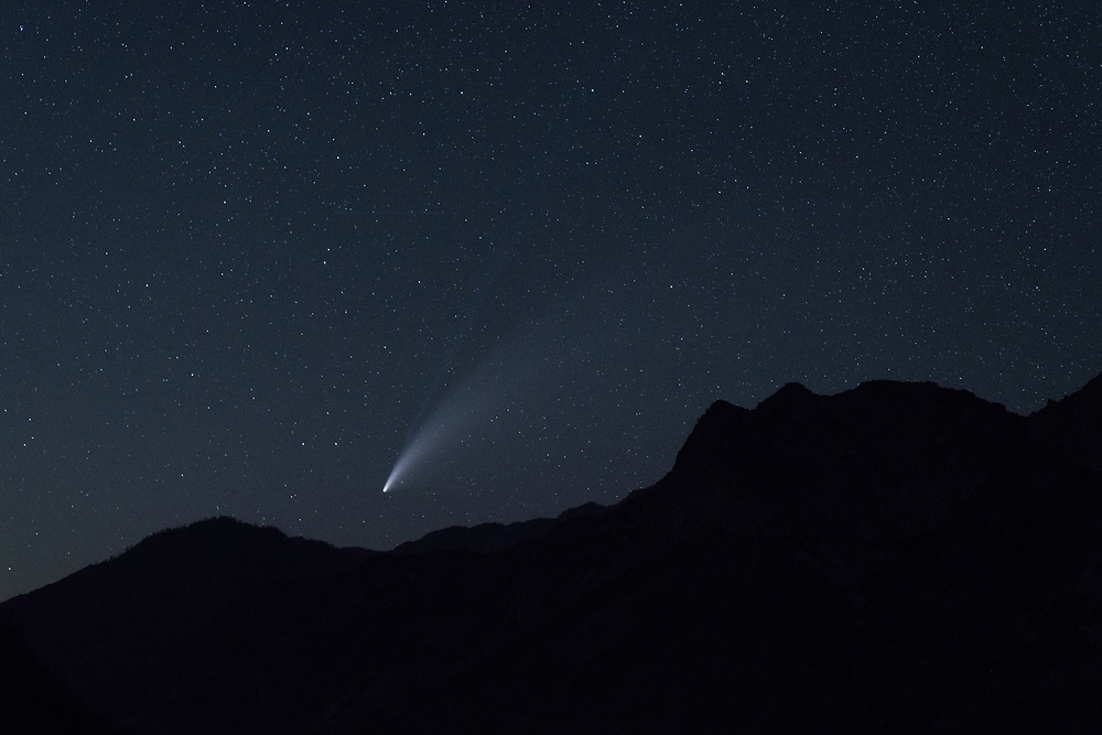 Comet Neowise, Kings Canyon National Park
