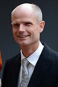 Prinsjesdag 2013 - Aankomst Parlementariërs bij de Ridderzaal op het Binnenhof.<br /> <br /> Op de foto: Stef Blok - Minister voor Wonen en Rijksdienst