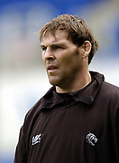 Reading, Berkshire, UK., 19th September 2004, Zurich Premiership Rugby, London Irish vs Leicester Tigers, Madejski Stadium, England, [Mandatory Credit: Pete Spurrier/Intersport Images],<br /> <br /> Leicester Tigers coach, John Wells.