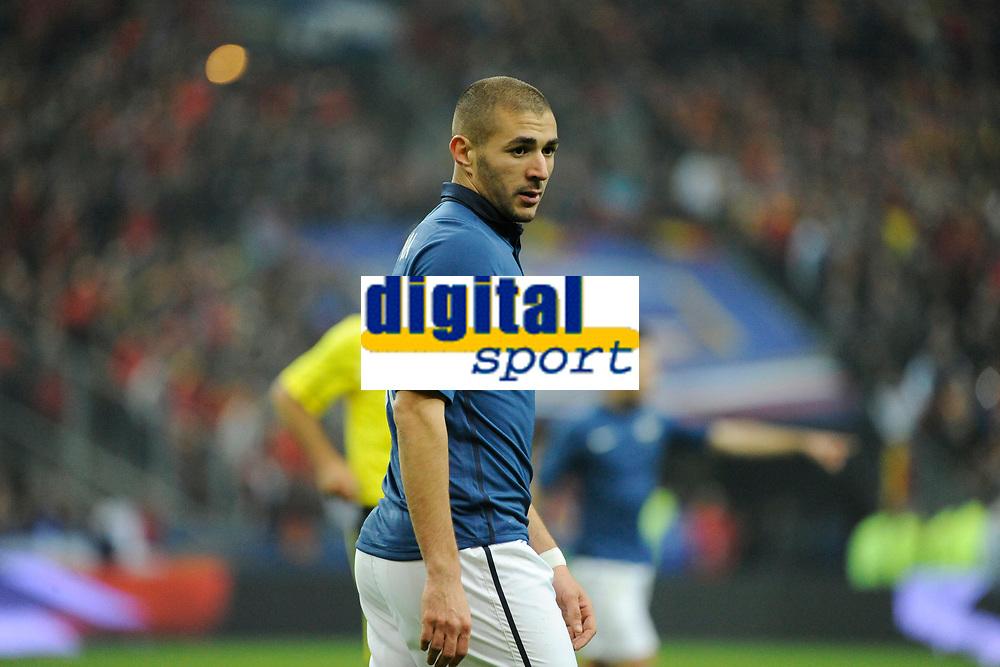 FOOTBALL - FRIENDLY GAME 2011 - FRANCE v BELGIUM - 15/11/2011 - PHOTO JEAN MARIE HERVIO / DPPI - KARIM BENZEMA (FRA)