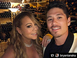 "Mariah Carey releases a photo on Instagram with the following caption: ""#Repost @bryantanaka (@get_repost)\n\u30fb\u30fb\u30fb\nWe're literally in a wine cellar that has over 250,000 bottles of wine, worth over 24 million dollars! \ud83d\udc40 It's one of the biggest collections of wine in the world!  The best part of this experience was spending it with this beautiful Queen. \ud83d\ude0e #BeautifulMemories #Moments4Life #MuchLove"". Photo Credit: Instagram *** No USA Distribution *** For Editorial Use Only *** Not to be Published in Books or Photo Books ***  Please note: Fees charged by the agency are for the agency's services only, and do not, nor are they intended to, convey to the user any ownership of Copyright or License in the material. The agency does not claim any ownership including but not limited to Copyright or License in the attached material. By publishing this material you expressly agree to indemnify and to hold the agency and its directors, shareholders and employees harmless from any loss, claims, damages, demands, expenses (including legal fees), or any causes of action or allegation against the agency arising out of or connected in any way with publication of the material."