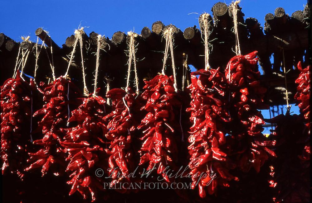 Chile Ristras #7, Santa Fe, New Mexico