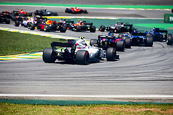 November 12, 2017 - Sao Paulo, Sao Paulo, Brazil - Nov, 2017 - Sao Paulo, Sao Paulo, Brazil - Pilots participate in the Brazilian Grand Prix of Formula One in the autodromo track of Interlagos in Sao Paulo. (Credit Image: © Marcelo Chello via ZUMA Wire)
