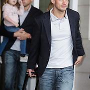 NLD/Amsterdam/20120604 - Vertrek Nederlands Elftal voor EK 2012, Wesley Sneijder