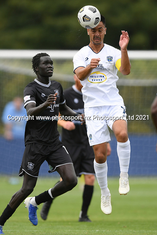 Auckland City FC's Cam Howieson in action in the Handa Premiership football match, Hawke's Bay United v Auckland City FC, Bluewater Stadium, Napier, Sunday, January 31, 2021. Copyright photo: Kerry Marshall / www.photosport.nz