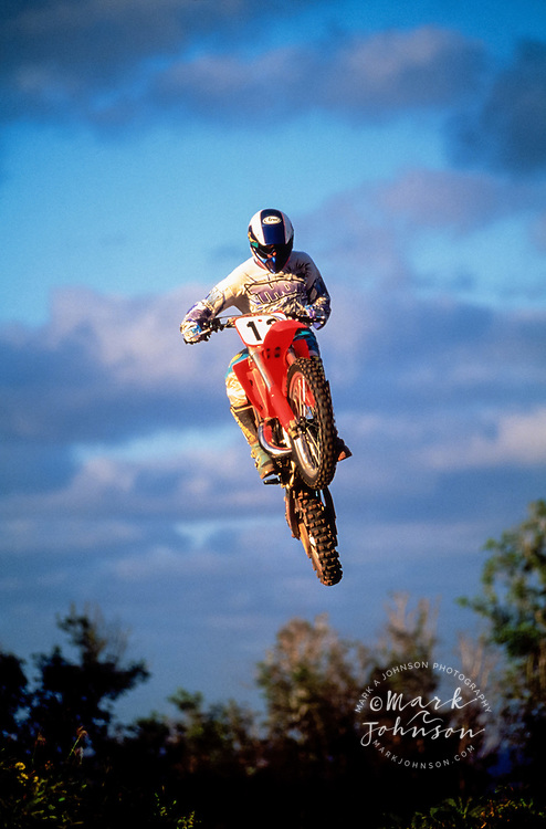 Motocross motorcycle action ****Model Release available ****Model Release available