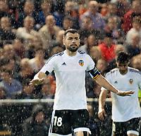 Valencia's Javi Fuego  during Champions league match. October 20, 2015. (ALTERPHOTOS/Javier Comos)