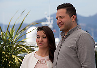 Director Waad Al Kateab and Hamza Al Kateab<br />  at For Sama film photo call at the 72nd Cannes Film Festival, Thursday 16th May 2019, Cannes, France. Photo credit: Doreen Kennedy