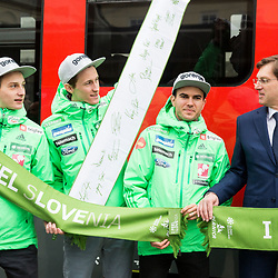 20170322: SLO, Ski Jumping - Test of the flying hill in Planica 1 day before FIS World Cup Final