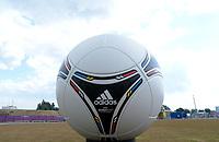 "Pallone Europeo<br /> Danzica 10/06/2012  ""GDANSK ARENA""<br /> Football calcio Europeo 2012 Spagna vs Italia<br /> Football Calcio Euro 2012<br /> Foto Insidefoto Alessandro Sabattini"