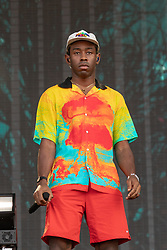 August 3, 2018 - Tyler, The Creator during Lollapalooza Music Festival in Chicago, Illinois, United States - 3 August 2018 (Credit Image: © RMV via ZUMA Press)
