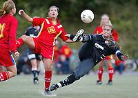 Fotball NM semifinale kvinner. Røa - Arna Bjørnar 1-3. Ingrid Camilla Fosse Sæthre, Arna Bjørnar.<br /> <br /> Foto: Andreas Fadum, Digitalsport