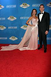 Kyle Busch, Samantha Busch attending the 2016 NASCAR Sprint Cup Series Awards