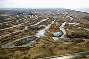 Nederland, Noord-Holland, Gemeente Bloemendaal, 16-04-2008; Amsterdamse Waterleiding Duinen (Amsterdamse Waterleidingduinen), waterwingebied van Waternet; foto in zuidwestelijke richting, richting bollnstreek;  in de duinen wordt - voorgezuiverd rivierwater - in de duinen geinfiltreerd; het zand zuivert het water tot voor consumptie geschikt drinkwater; infiltratie, infiltratiegebied, Vogelenzang, leidingwater, kraanwater, waterleiding, verdroging, waterzuivering, zand, duin ..luchtfoto (toeslag); aerial photo (additional fee required); .foto Siebe Swart / photo Siebe Swart
