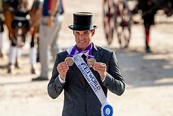 Bronze Medal, Edouard Simonet, BEL<br /> World Equestrian Games - Tryon 2018<br /> © Hippo Foto - Dirk Caremans<br /> 23/09/2018