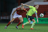 Brighton U18 Jordan Maguire-Drew  during the FA Youth Cup match between U18 Nottingham Forest and U18 Brighton at the City Ground, Nottingham, England on 10 December 2015. Photo by Simon Davies.