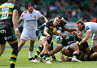 Rugby Union - 2020 / 2021 Gallagher Premiership - Round 21 - Northampton Saints vs Exeter Chief - Franklin Gardens.<br /> <br /> Northampton Saints' Tom James in action during this afternoon's game.<br /> <br /> COLORSPORT/ASHLEY WESTERN