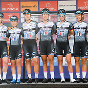 Team Hitec Products – Birk Sport (Nor) photocall at Prudential RideLondon Classique at the Mall on 28 July 2018, London, UK