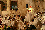 The Ethiopian church Via Dolorosa, Jerusalem, Israel