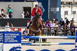 Devos Pieter, BEL, Claire Z<br /> European Championship Jumping<br /> Rotterdam 2019<br /> © Hippo Foto - Dirk Caremans<br /> Devos Pieter, BEL, Claire Z