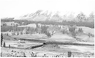 """RGS snowshed at Lizard Head covering wye.<br /> RGS  Lizard Head, CO  Taken by Richardson, Robert W. - 10/12/1945<br /> In book """"Southern, The: A Narrow Gauge Odyssey"""" page 66<br /> Also in """"RGS Story Vol. IV"""", pp. 288-289."""