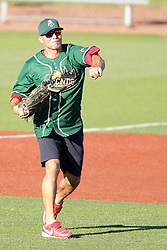 29 July 2017: Rick Ankiel - Legends Baseball game sponsored by the Normal CornBelters at Corn Crib Stadium on the campus of Heartland Community College in Normal Illinois