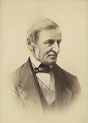 April 4, 2017 - Ralph Waldo Emerson (1803-82), American Essayist, Lecturer and Poet and Leader of the Transcendentalist Movement, Portrait (Credit Image: © Jt Vintage/Glasshouse via ZUMA Wire)