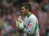 Photo: Lee Earle.<br /> Southampton v Derby County. Coca Cola Championship. Play Off Semi Final, 1st Leg. 12/05/2007.Southampton keeper Bartosz Bialkowski.