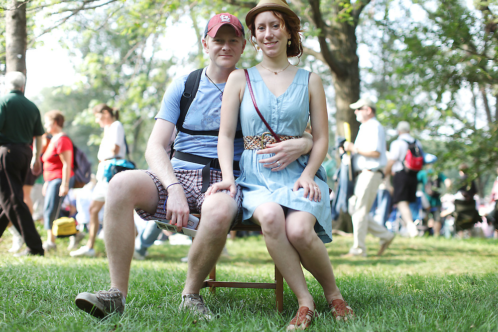 Jay and Jayme Zvirgzdins, newlyweds from St. Louis, Missouri.