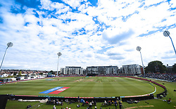File photo dated 09-07-2017 of General view of the County Ground, Bristol.