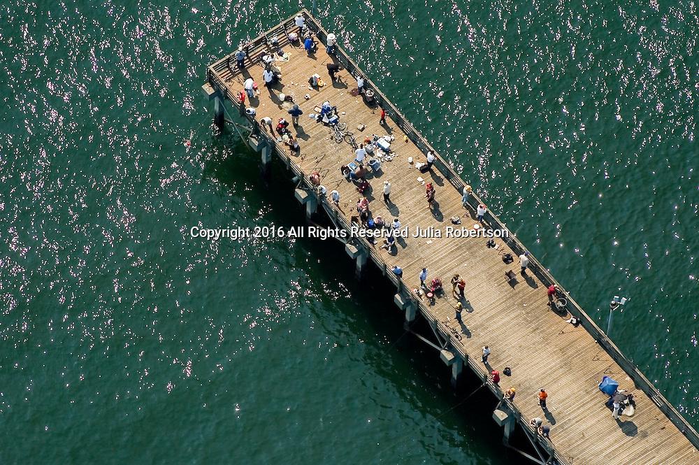 Aerial view of Coney Island, Brooklyn , New York,