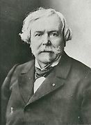 'Edmond de Goncourt (1822-1896), French writer, Literary critic, Art crtic, and publisher. Founder of the Academie Goncourt.'