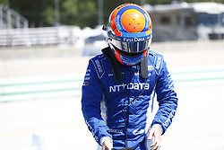 June 23, 2018 - Elkhart Lake, Wisconsin, United States of America - ED JONES (10) of the United Arab Emirates prepares to take to the track to qualify for the KOHLER Grand Prix at Road America in Elkhart Lake, Wisconsin. (Credit Image: © Justin R. Noe Asp Inc/ASP via ZUMA Wire)