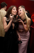 Princess Tamara Czartorski and Anouskha de Giorgiou.. British Red Cross tenth annual Ball. 'The Room' South Bank. London. 1 December 2004. ONE TIME USE ONLY - DO NOT ARCHIVE  © Copyright Photograph by Dafydd Jones 66 Stockwell Park Rd. London SW9 0DA Tel 020 7733 0108 www.dafjones.com