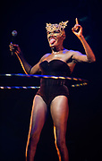 Grace Jones Dublin 2016 at the Olympia Theatre for the BBC film The Musical of My Life