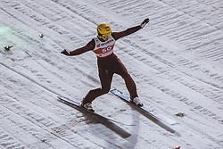 24.02.2021, Oberstdorf, GER, FIS Weltmeisterschaften Ski Nordisch, Oberstdorf 2021, Damen, Skisprung, HS106, Qualifikation, im Bild Irina Avvakumova (RUS) // Irina Avvakumova of Russian Federation during the Qualification for the women ski Jumping HS106 Competition of FIS Nordic Ski World Championships 2021. Oberstdorf, Germany on 2021/02/24. EXPA Pictures © 2021, PhotoCredit: EXPA/ Dominik Angerer