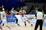 DESCRIZIONE : Capo dOrlando Lega A 2015-16 Betaland Orlandina Basket Vanoli Cremona<br /> GIOCATORE : Simas Jasaitis<br /> CATEGORIA : Tecnica Passaggio<br /> SQUADRA : Betaland Orlandina Basket<br /> EVENTO : Campionato Lega A Beko 2015-2016 <br /> GARA : Betaland Orlandina Basket Vanoli Cremona<br /> DATA : 15/11/2015<br /> SPORT : Pallacanestro <br /> AUTORE : Agenzia Ciamillo-Castoria/G.Pappalardo<br /> Galleria : Lega Basket A Beko 2015-2016<br /> Fotonotizia : Capo dOrlando Lega A Beko 2015-16 Betaland Orlandina Basket Vanoli Cremona