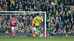 Frank Fielding of Bristol City makes a save - Mandatory by-line: Arron Gent/JMP - 23/02/2019 - FOOTBALL - Carrow Road - Norwich, England - Norwich City v Bristol City - Sky Bet Championship