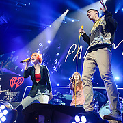 WASHINGTON, D.C. - December 16th, 2013 - Hayley Williams of Paramore performs onstage during Hot 99.5's Jingle Ball 2013, presented by Overstock.com, at Verizon Center on December 16, 2013 in Washington, D.C. (Photo by Kyle Gustafson / For The Washington Post)