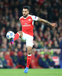 March 7, 2017 - London, England, England - Arsenal's Theo Walcott during UEFA Champions League - Round 16 - 2nd Leg match between Arsenal and Bayern Munich at The Emirates , London 07 Mar 2017  (Credit Image: © Kieran Galvin/NurPhoto via ZUMA Press)