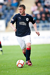 Falkirk's Thomas Scobie..Falkirk 1 v 0 Dundee, Ramsdens Cup Second Round, 9th August 2011.