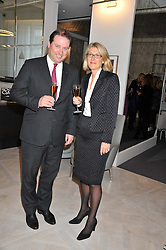 JO THORNTON MD Veuve Clicquot UK and KATE PERCIVAL co-founder and CEO of Grace attending the Veuve Clicquot Business Woman Previous Winners Dinner held at Grace, 11c West Halkin Street, London on 16th April 2013.