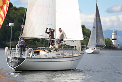 The Silvers Marine Scottish Series 2014, organised by the  Clyde Cruising Club,  celebrates it's 40th anniversary.<br /> Day 1 Bedlam<br /> <br /> Racing on Loch Fyne from 23rd-26th May 2014<br /> <br /> Credit : Marc Turner / PFM