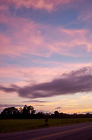 Pastel Sky at Dawn. 7 of 13 Images taken with a Leica X2 camera and 24 mm f/2.8 lens (ISO 125, 24 mm, f/2.8, 1/30 sec). Raw images processed with Capture One Pro and the panorama generated using AutoPano Giga Pro.
