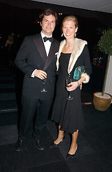 TOM & DAVINA BARBER she was Davina Duckworth-Chad, a friend of Prince William's at the 28th Game Conservancy Trust Ball in Battersea Park, London SW11 on 18th May 2006.<br />
