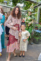 Hedvig Sagfjord Opshaug and her daughter Hedda at The Ivy Chelsea Garden Summer Party ,The Ivy Chelsea Garden, King's Road, London, England. 14 May 2019. <br /> <br /> ***For fees please contact us prior to publication***