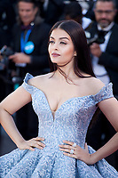 Aishwarya Rai Bachchan at the Okja gala screening,  at the 70th Cannes Film Festival Friday 19th May 2017, Cannes, France. Photo credit: Doreen Kennedy